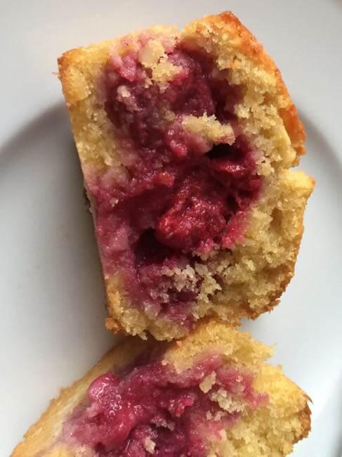Kirsch-Muffin